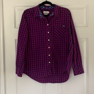 Vineyard Vines button down with cashmere
